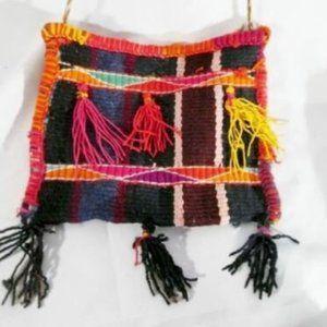 Woven Kilim Wool Blanket Ethnic Tapestry Bag
